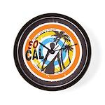 So Cal Wall Clock