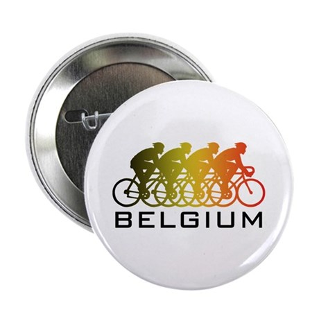 """Belgium Cycling 2.25"""" Button"""