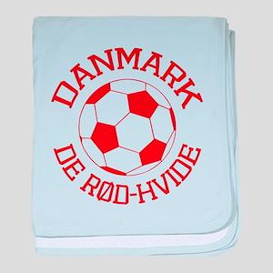 Danmark Rod-Hvide baby blanket