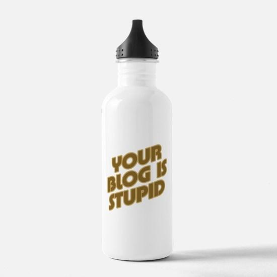 Stupid Blog Water Bottle