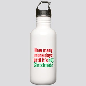 Not Christmas Stainless Water Bottle 1.0L