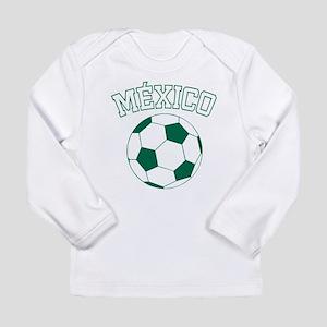 Mexico Futbol Long Sleeve Infant T-Shirt