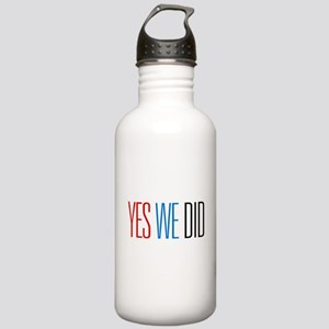 Obama Yes We Did Stainless Water Bottle 1.0L
