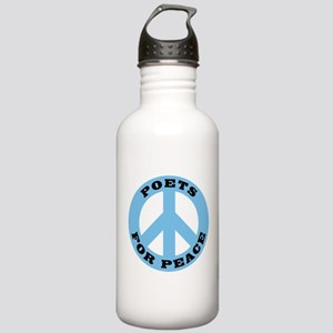 Poets For Peace Stainless Water Bottle 1.0L