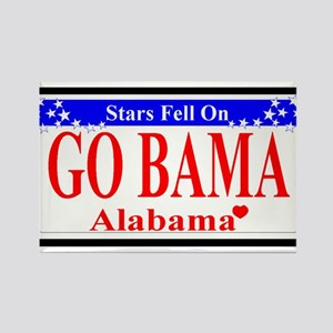 Go Bama! Rectangle Magnet