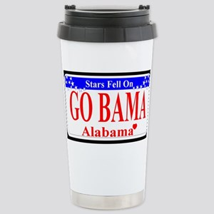 Go Bama! Stainless Steel Travel Mug