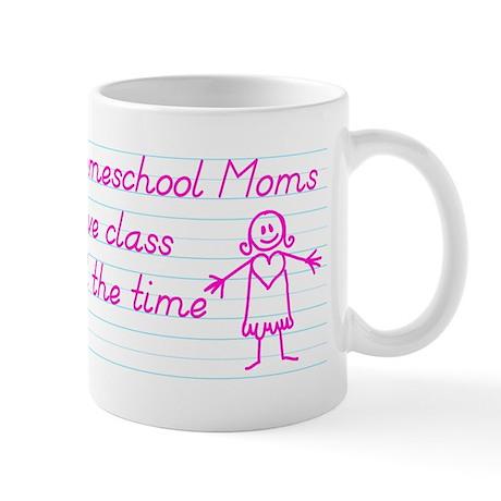 Classy Homeschool Mom Mug