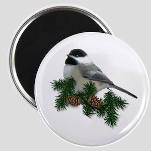 """Chickadee 2.25"""" Magnet (10 pack)"""