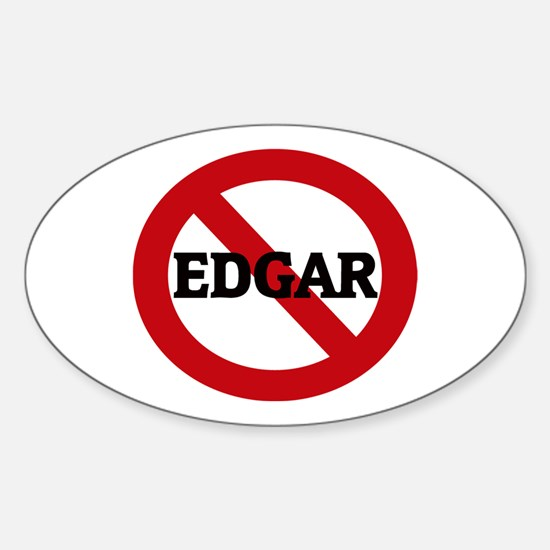 Anti-Edgar Oval Decal