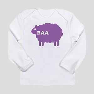 Sheep: Baa Long Sleeve Infant T-Shirt