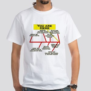 """You Are Here"" White T-shirt"