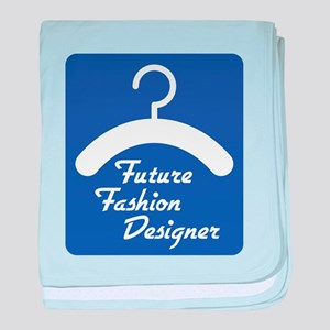 Future Fashion Designer baby blanket