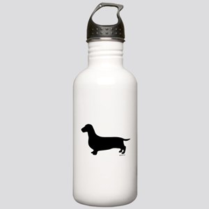 Dachshund Silhouette Stainless Water Bottle 1.0L
