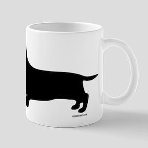 Dachshund Silhouette Mug
