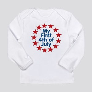 First 4th of July Long Sleeve Infant T-Shirt