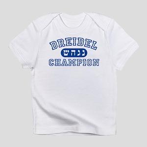 Dreidel Champion Infant T-Shirt