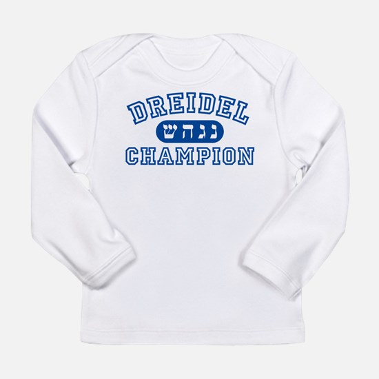 Dreidel Champion Long Sleeve Infant T-Shirt