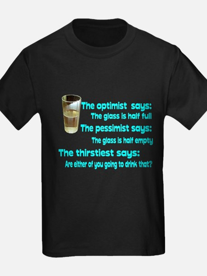 Optimist? Pessimist? Thirstiest. T