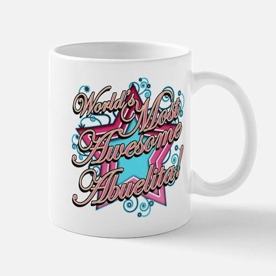 Worlds Most Awesome Abuelita Mug