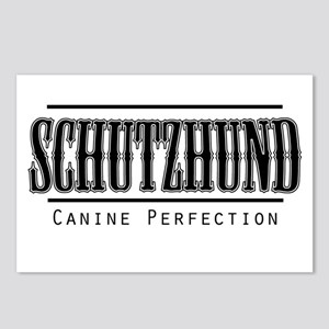 Schutzhund-Canine Perfection Postcards (Package of