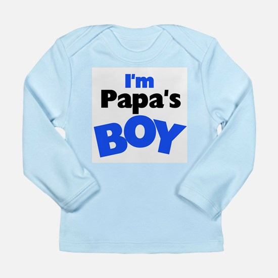 I'm Papa's Boy Long Sleeve Infant T-Shirt