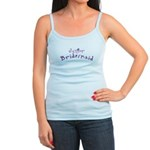 Flower Jr. Bridesmaid Jr. Spaghetti Tank
