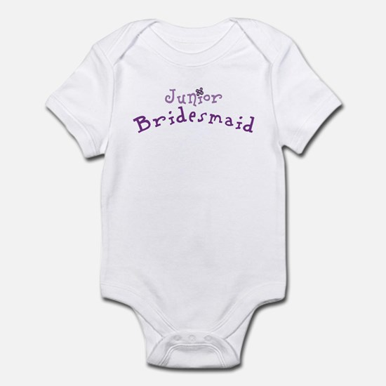 Flower Jr. Bridesmaid Infant Creeper