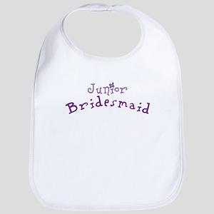 Flower Jr. Bridesmaid Bib