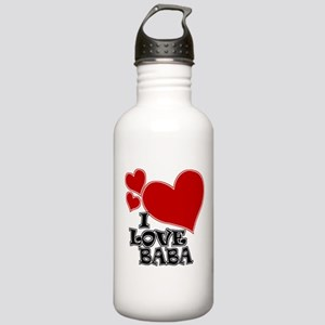 I Love Baba! Stainless Water Bottle 1.0L