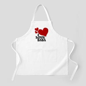 I Love Baba! Apron