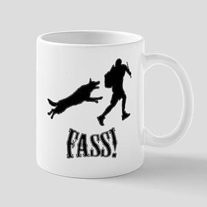 Fass Silhouette Mug