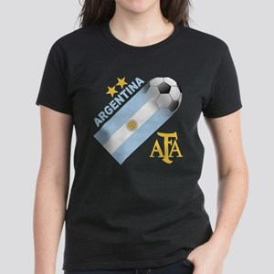 Argentina world cup soccer Women's Dark T-Shirt