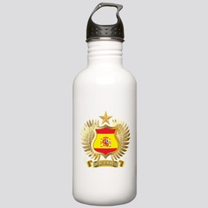 Spain world cup champions Stainless Water Bottle 1