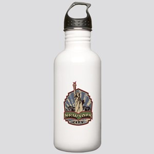New York City Stainless Water Bottle 1.0L