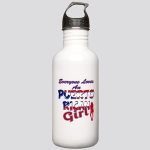 Puerto rican girl Stainless Water Bottle 1.0L