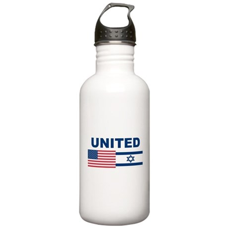 Support Isreal Stainless Water Bottle 1.0L