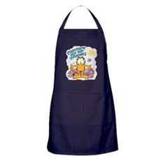Flowers Are Our Friends! Apron (dark)
