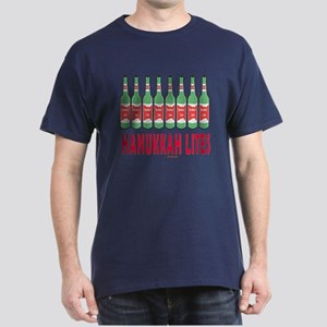 Hanukkah Lights Dark T-Shirt
