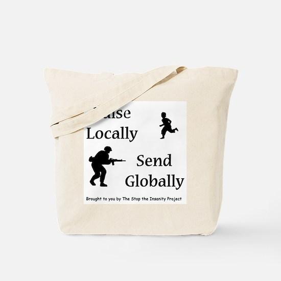 Raise & Send Tote Bag