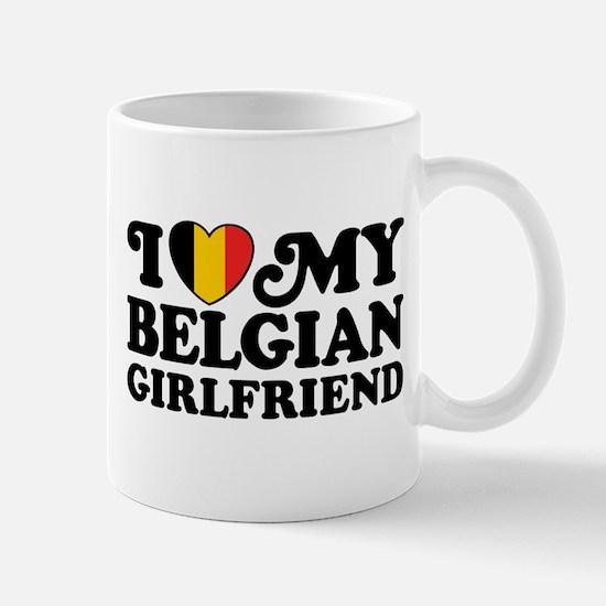 I Love My Belgian Girlfriend Mug