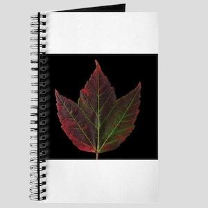 Fall Maple Leaf Journal