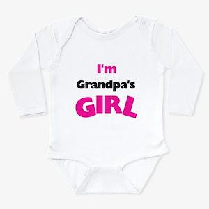 I'm Grandpa's Girl Long Sleeve Infant Bodysuit