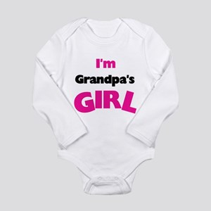 I'm Grandpa's Girl Long Sleeve Infant Bodysuit