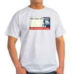 U.S. Needs Us Ash Grey T-Shirt