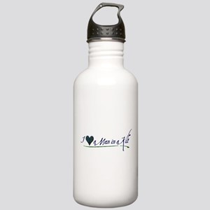 I Love a Man in a Kilt Stainless Water Bottle 1.0L