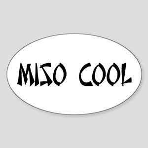 Miso Cool Sticker (Oval)