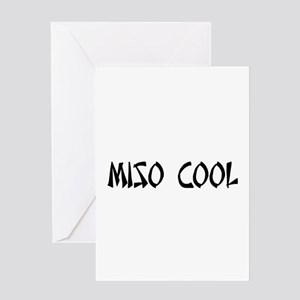 Miso Cool Greeting Card