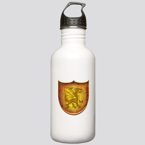 Copper Dragon Shield Stainless Water Bottle 1.0L