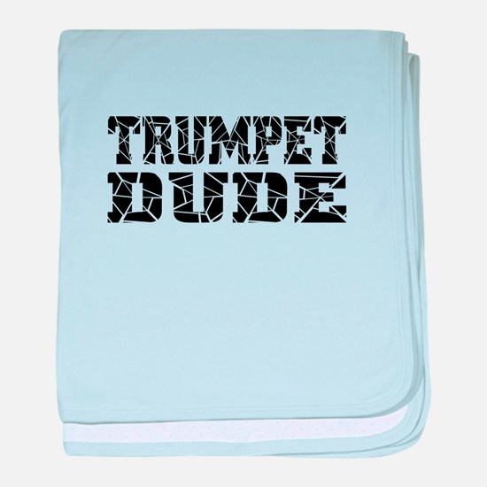 Trumpet baby blanket