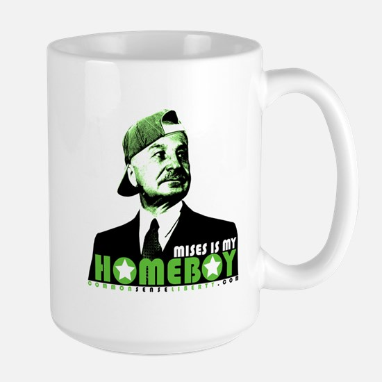 MIses is my Homeboy Large Mug